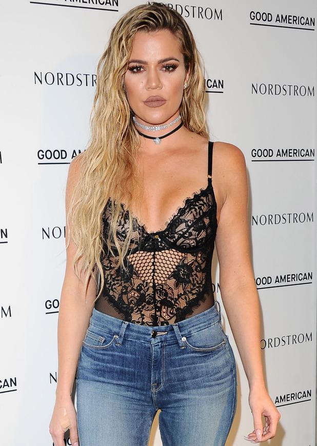 Khloe Kardashian at Good American launch party, Los Angeles, 19 October 2016