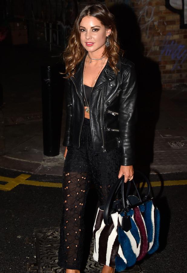 Louise Thompson, Made In Chelsea at the Rafaello Movie Marathon in Shoreditch, London 20 October 2016