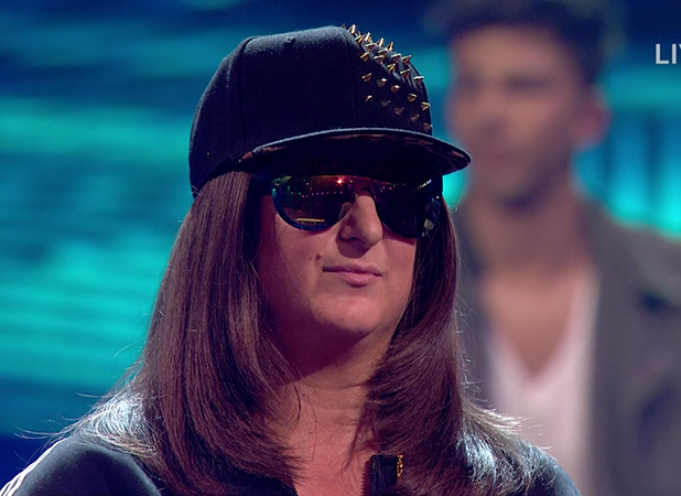 Honey G on 'The X Factor'. Broadcast on ITV 1HD