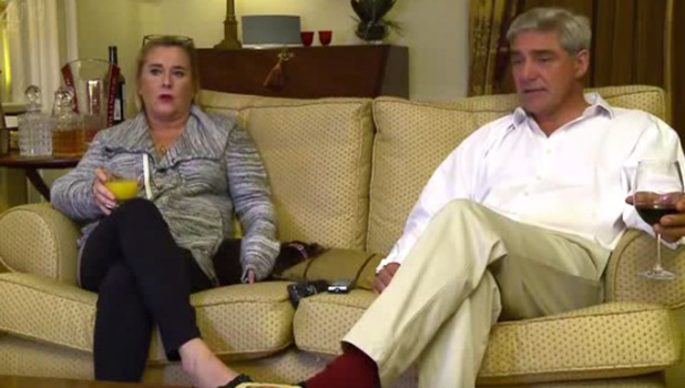 Steph and Dom on Gogglebox Channel 4