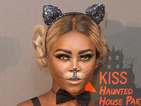 X Factor's Gifty Louise makes a glamorous Catwoman at KISS FM's Haunted House Party