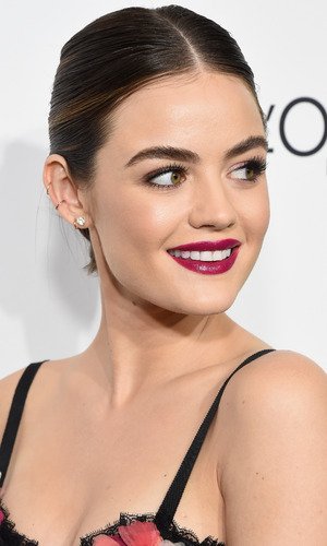 Actress Lucy Hale attends the 23rd Annual ELLE Women In Hollywood Awards at Four Seasons Hotel Los Angeles at Beverly Hills on October 24, 2016 in Los Angeles, California.