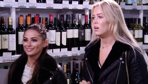TOWIE: Amber Dowding clashes with Courtney Green and Chloe Meadows 23 October