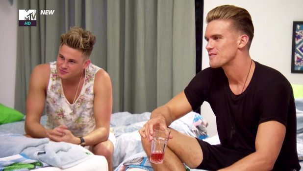 Gaz Beadle and Marty McKenna, Geordie Shore, Series 13 25 October