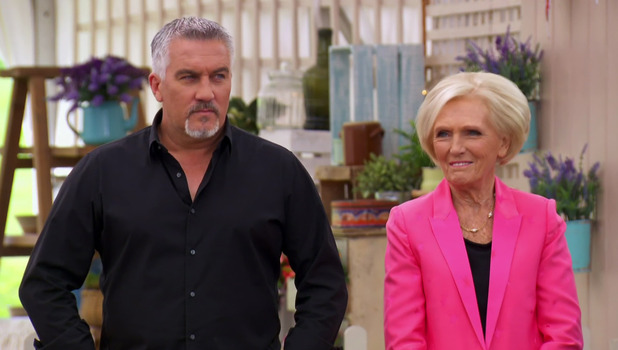 Great British Bake Off final: Mary Berry and Paul Hollywood 27 October