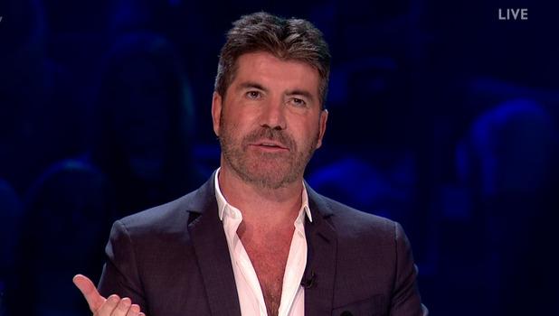 Simon Cowell, The X Factor 22 October