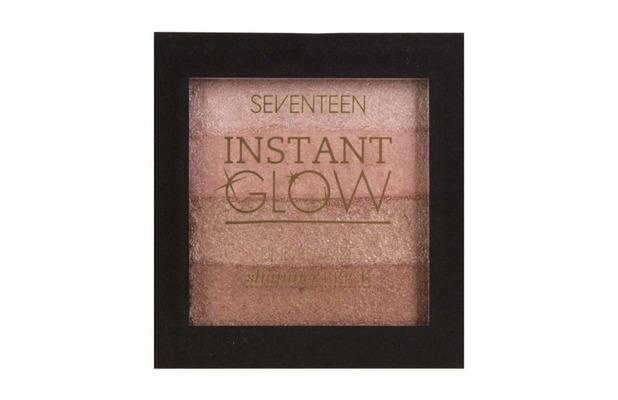SEVENTEEN Instant Glow Shimmer Brick £4.99, 26 October 2016