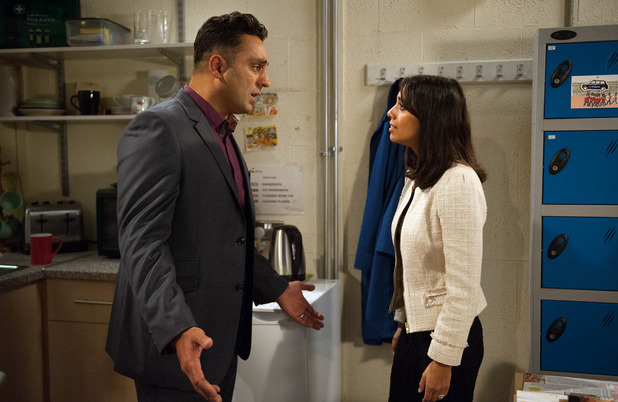 Emmerdale, Priya questions Rakesh, Wed 2 Nov
