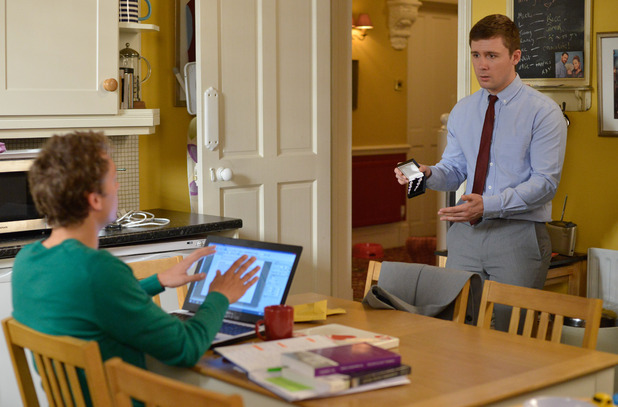 EastEnders, Johnny tells Lee to come clean, Thu 27 Oct