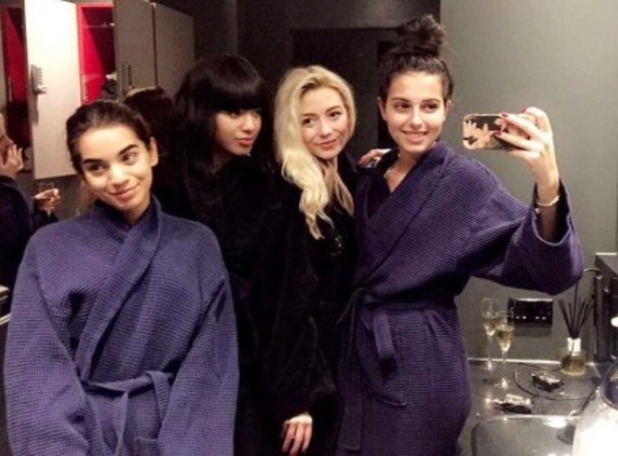 X Factor's Four Of Diamonds head to the spa - 26 October 2016
