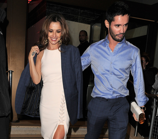 Cheryl and ex husband Jean-Bernard Fernandez Versini 16 October 2015