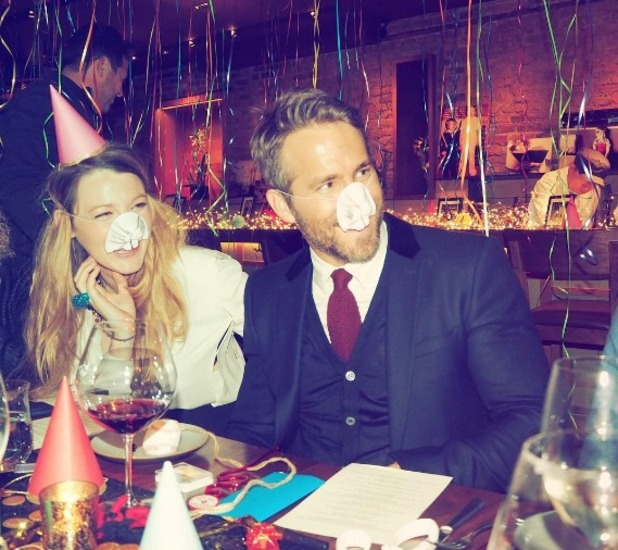 Blake Lively and Ryan Reynolds celebrate Ryan's 40th birthday 26 October