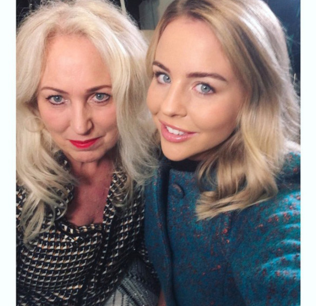 TOWIE's Lydia Bright and Debbie Bright, Instagram selfie 26 October 2016