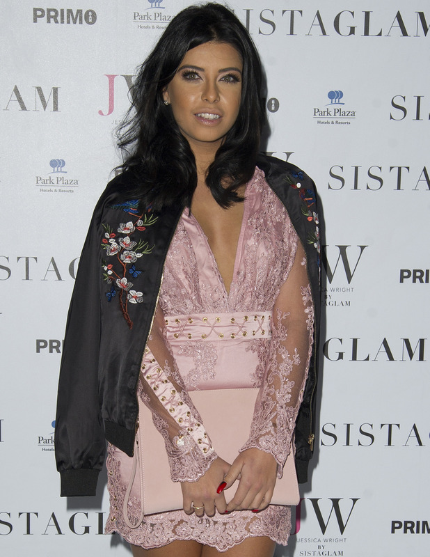 Love Island's Cara de la Hoyde attends the Sistaglam launch party, London 26 October 2016