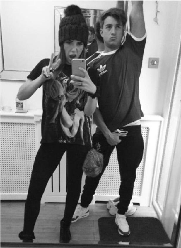 Imogen Townley and Deano Baily, Instagram 24 October
