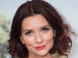 Great British Bake Off champion Candice Brown shows off her red hair on Loose Women, 27 October 2016