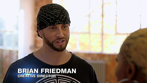 Brian Friedman on X Factor 22 October 2016