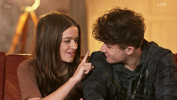 Ryan Lawrie and Emily Middlemas on X Factor 2016