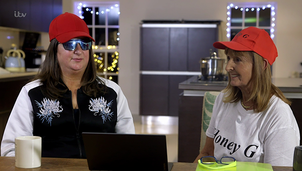 Honey G and her mum on X Factor 2016