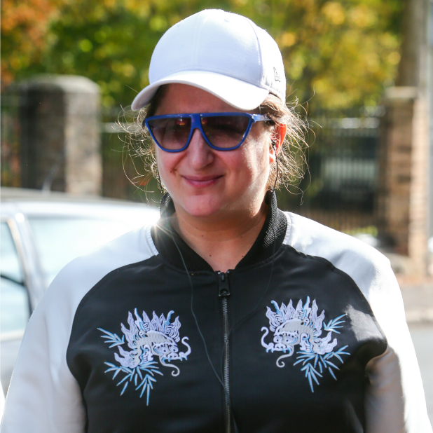 Honey G arrives for rehearsals for this week's X Factor live show 26th October 2016