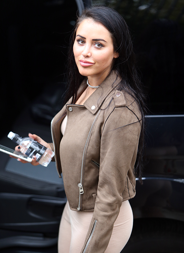 Marnie Simpson outside ITV Studios 2016