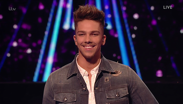 Matt Terry performs for the judges on 'The X Factor'. Broadcast on ITV1HD
