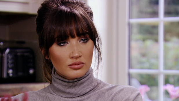 TOWIE: Megan McKenna talks to her parents about Pete Wicks 23 October 2016