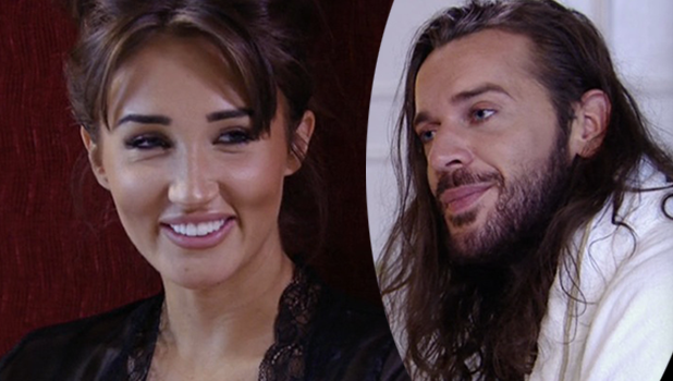 TOWIE: Megan agrees to meet Pete at spa hotel where he treats her to dinner and breakfast in bed Airing 26th October 2016