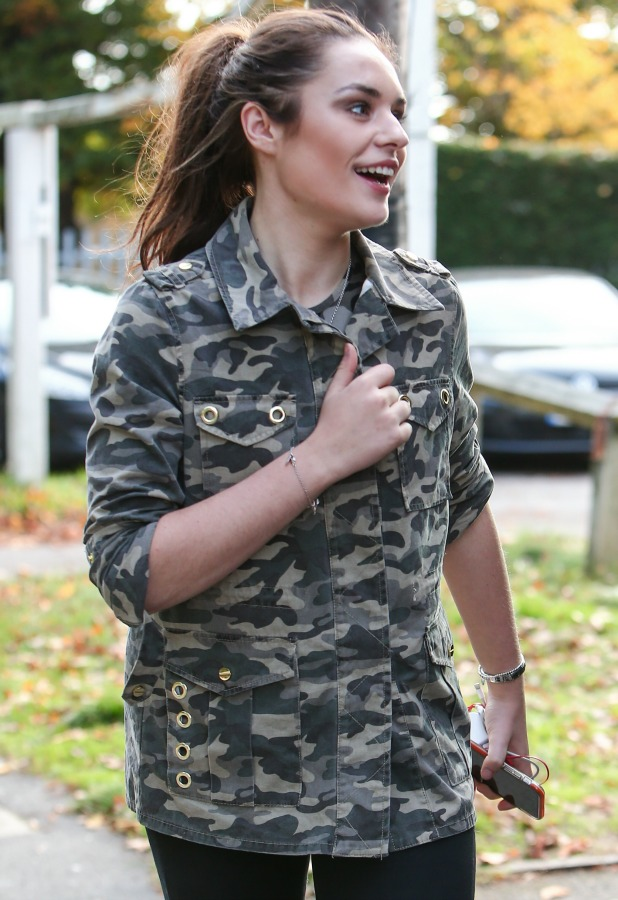 Sam Lavery arrives for rehearsals for this week's X Factor live show 26 October 2016
