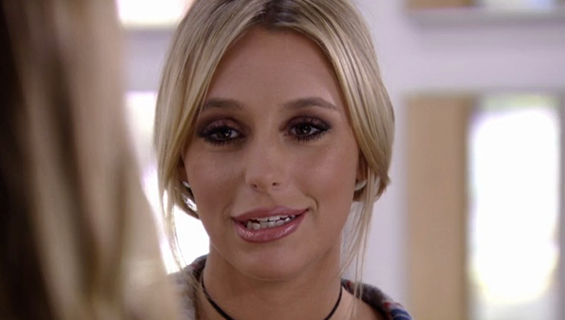 TOWIE: Amber tells the girls about Chris romance troubles 26 October 2016