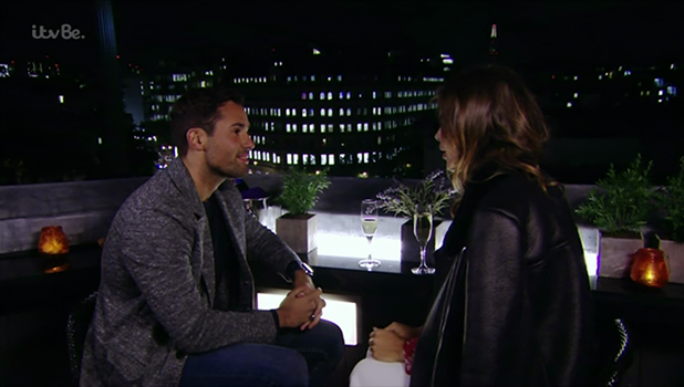 Ben Shenel takes Chloe Lewis on a date in Lonson on 'The Only Way Is Essex'. Broadcast on ITVBe