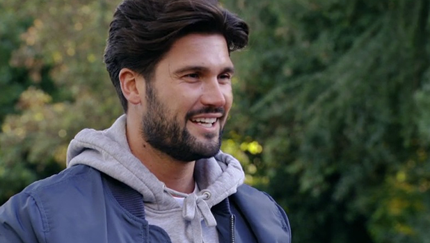 TOWIE's Kate Wright and Dan Edgar meet at Ronnie's first birthday 23 October 2016