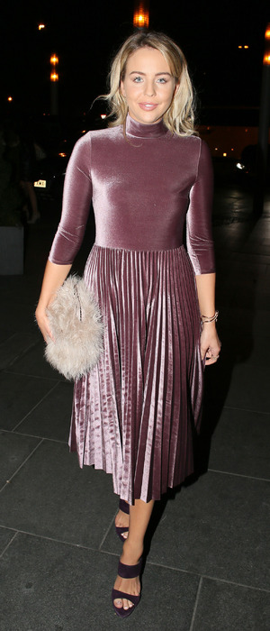 TOWIE star Lydia Bright at the Breast Cancer Care Fashion Show, London, 2 November 2016