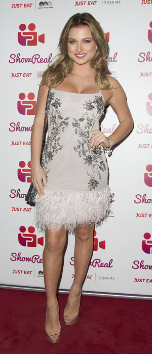 Love Island star Zara Holland at the ShowReal dating app launch party, London, 2 November 2016