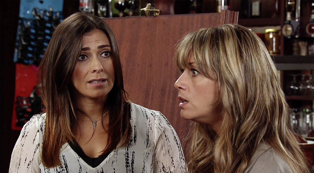 Corrie, Maria flips at Michelle, Mon 7 Nov