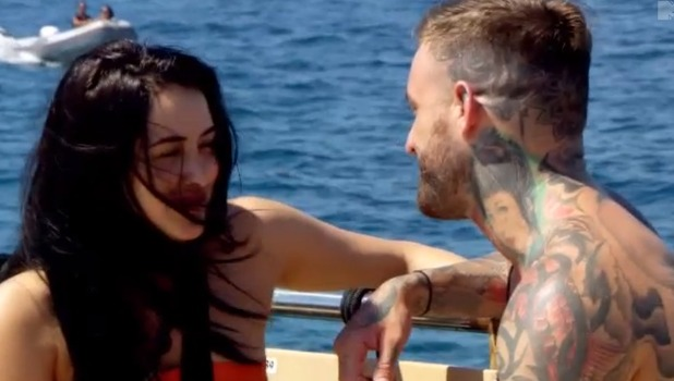 Geordie Shore: Marnie Simpson and Aaron Chalmers 31 October