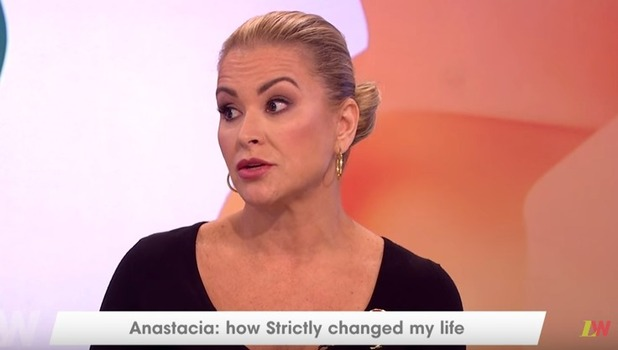 Anastacia appears on ITV's Loose Women 1 November