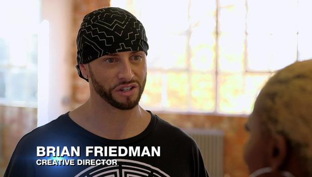 Brian Friedman, X Factor 8 October
