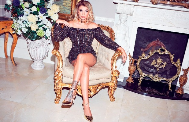 Love Island star Olivia Buckland launches Quiz clothing collection, embellished playsuit £39.99, 6 November 2016