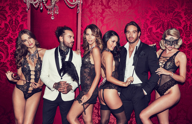 TOWIE stars Pete Wicks and James Lock appear in Ann Summers campaign, Plockie, 1 November 2016