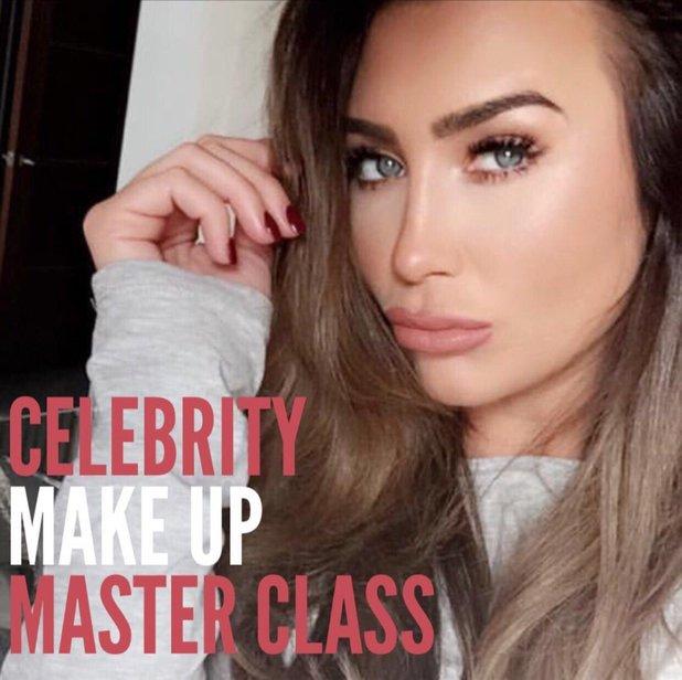 Lauren Goodger announces make-up masterclasses - 2 November 2016