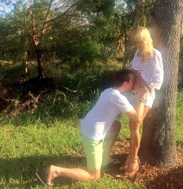 Aliona Vilani and husband Vincent Kavanagh announce they're having a baby, Twitter 3 November