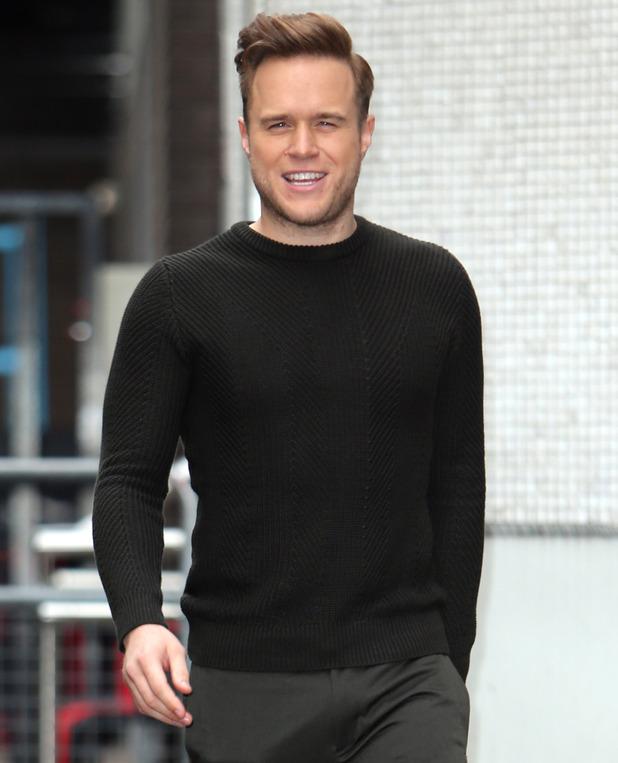 Olly Murs outside ITV Studios, London 25 October
