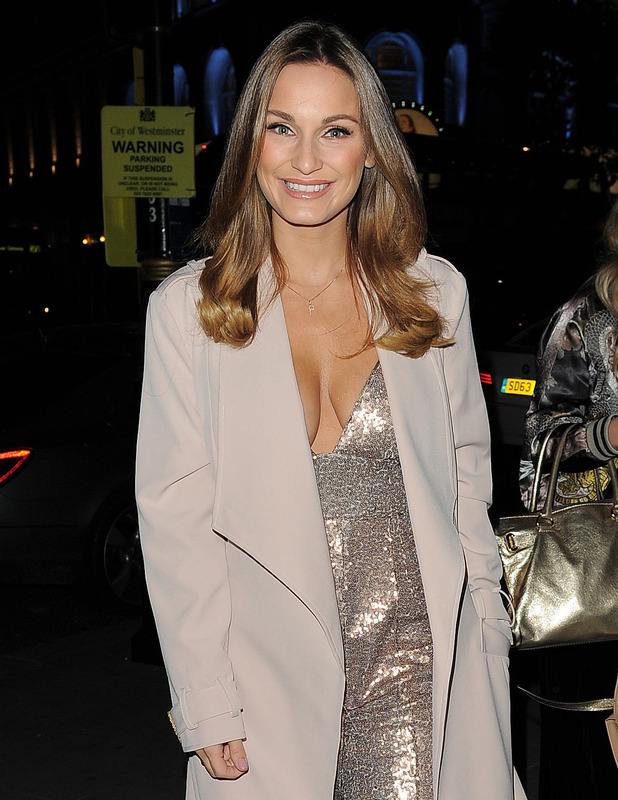 Former TOWIE star Sam Faiers attends private dinner with fashion brand RARE, London, 3 November 2016