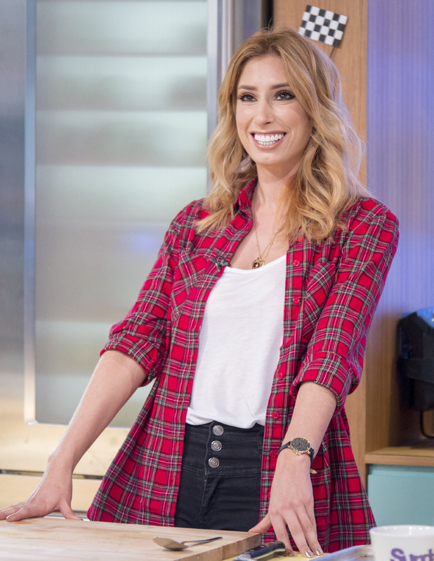 Stacey Solomon appears on 'Sunday Brunch' TV show, London, UK - 23 Oct 2016