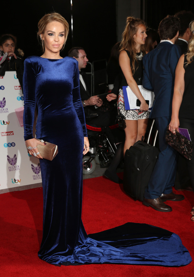 Katie Piper attends the Pride of Britain Awards, London, 31 October 2016