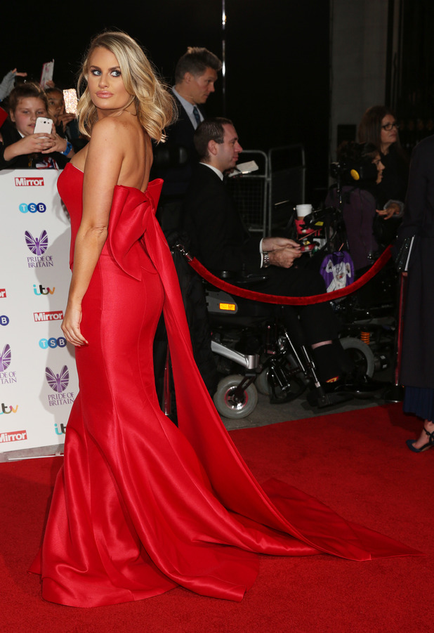 TOWIE star Danielle Armstrong at the Pride of Britain Awards, London, 31 October 2017