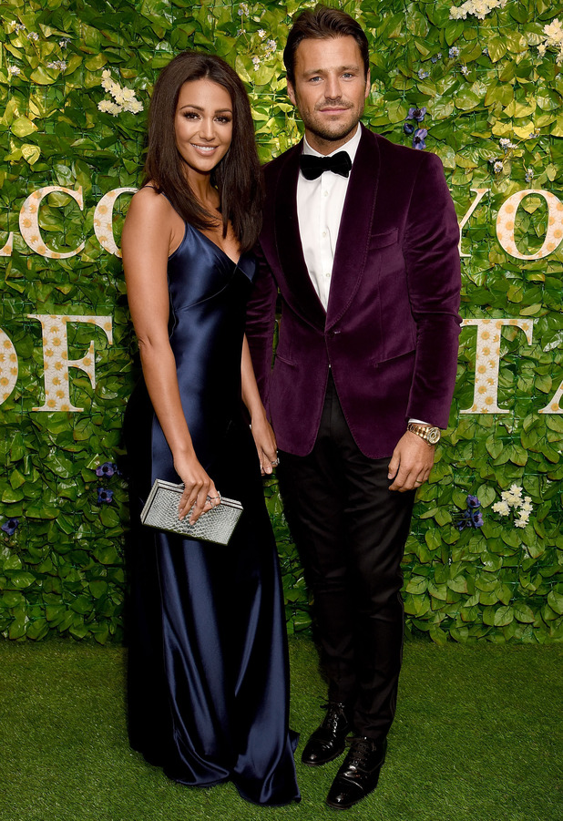 Michelle Keegan and Mark Wright at the Pride of Britain Awards, London, 31 October 2016