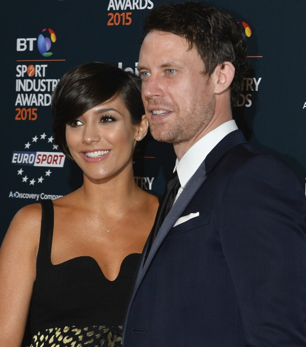 Celebrities attends the BT Sports Industry Awards at Battersea Evolution in London Frankie and Wayne Bridge 2016