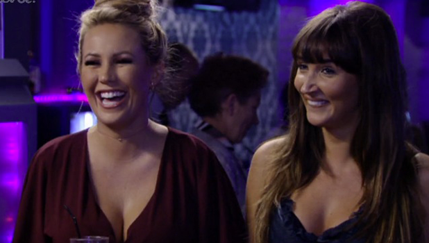 TOWIE: Kate Wright with Megan 2 November 2016